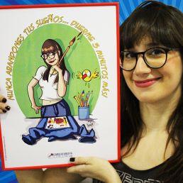 Caricatura de una foto personalizada