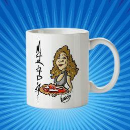 taza mariapina caricatura