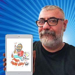 Caricatura digital en directo
