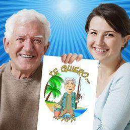 Caricatura para gente mayor