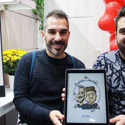 Caricaturista para evento