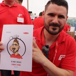 caricaturista digitall madrid espana