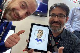 Caricatura digital caricaturista online