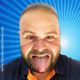 mascarilla de tu cara caricaturista online