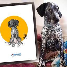 caricatura de mascota