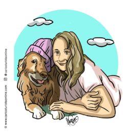 retrato de mascota